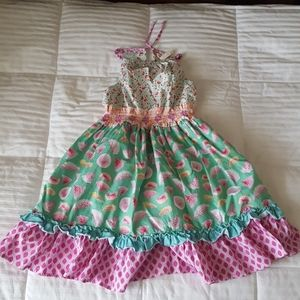 Matilda Jane Slice of Life Watermelon dress